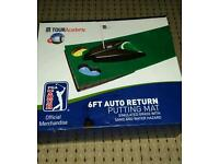 6ft auto return putting mat