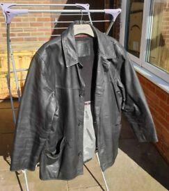 Vintage Ciro Citterio leather jacket, L