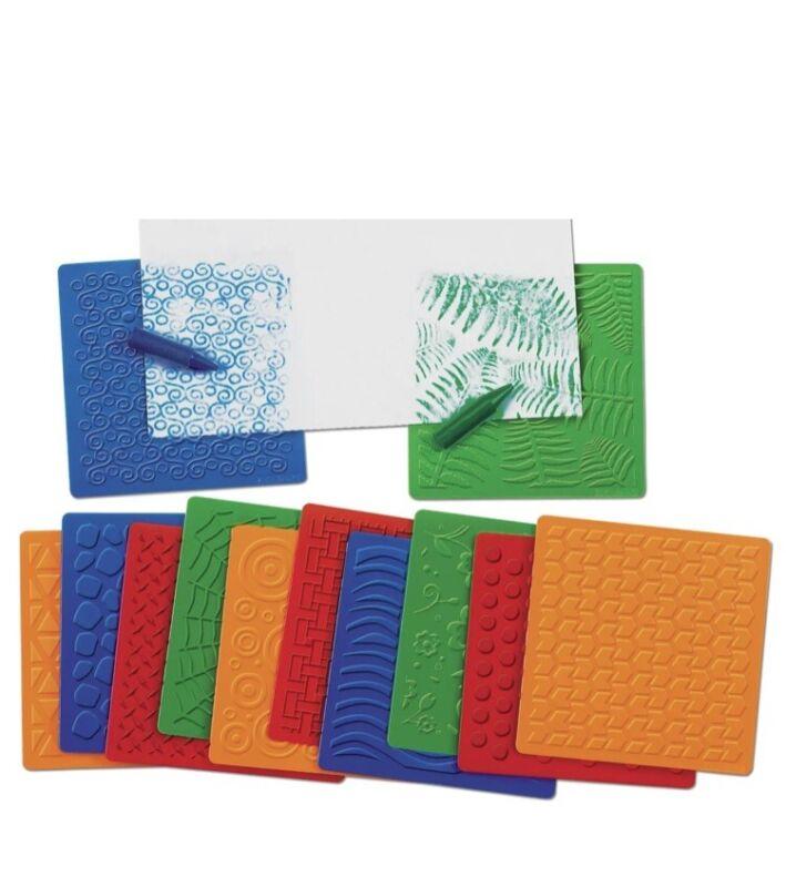 Lakeshore Textured Rubbing Plates - 12