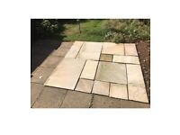 Assortment of un-used Sandstone Paving Slabs