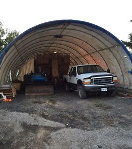 Cover shelter/Tarp barn