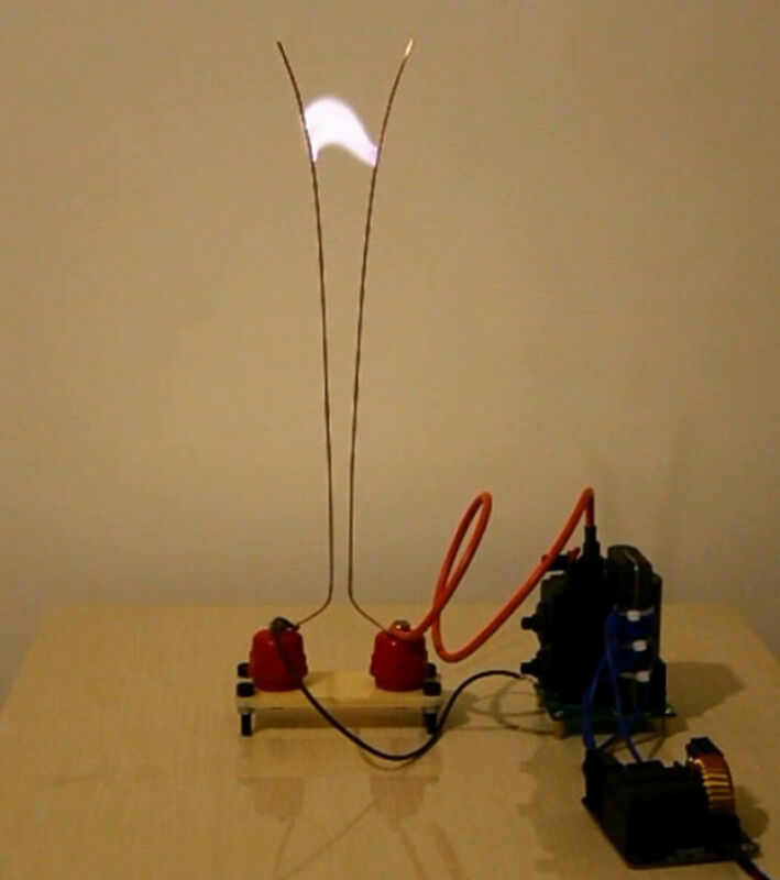 jacob's ladder Kit ZVS High voltage Arc DIY Experimental Learning Study DC 24V