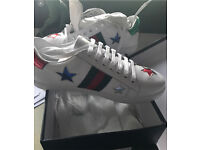 Gucci ace trainers size 40