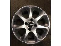 Ford Fiesta 16 inch Alloy Wheels X3