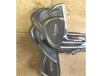 LEFT HANDED- MIZUNO ASTRON FULL IRONS 3 TO S