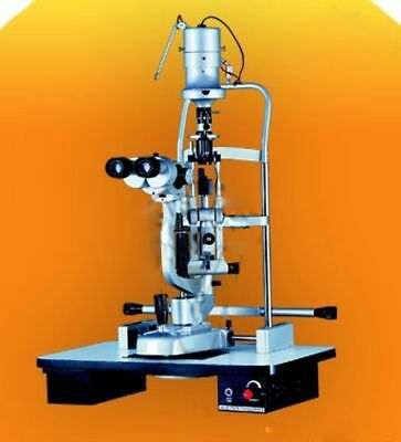 Slit Lamp Haag Streit Type 5 Step With Wooden Base Lab Equipment