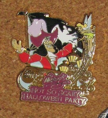 A9 Disney Pin Not So Scary Halloween Party 2014 Captain Hook LE - A Not So Scary Halloween Disney