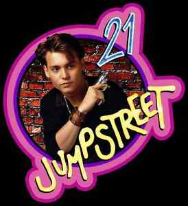 80s-TV-Classic-21-Jump-Street-custom-tee-Any-Size-Any-Color-Johnny-Depp