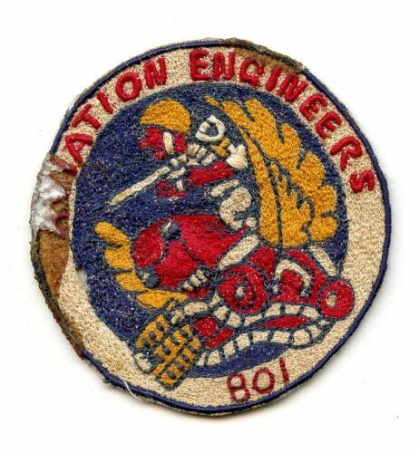 Original Philippine Made Aviation Engineers 801 Patch