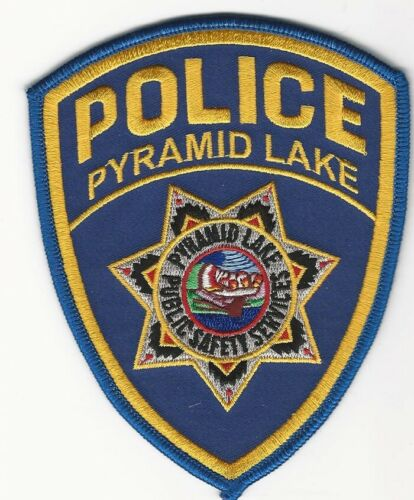 Pyramid Lake Tribal Police State Nevada NV patch
