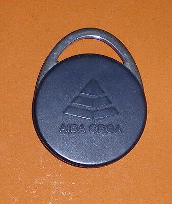 AIDA-ORGA CARD-SCHLÜSSELKATRE-12 gramm schwer und 3,5 x 4,5 cm-Zeiterfassung-Top