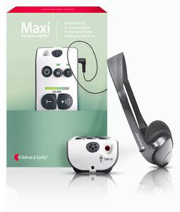 Digitale Hörhilfe Audio Maxi, besser als Funkkopfhörer