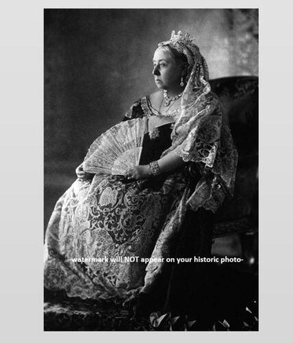 Queen Victoria PHOTO Her Majesty United Kingdom Great Britain c1880