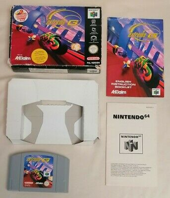 VIDEO GAME - Nintendo N64 Extreme-G Retro Boxed Video Game Complete Acclaim PAL