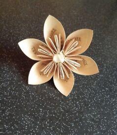 Handmade flowers, wedding/table decorations