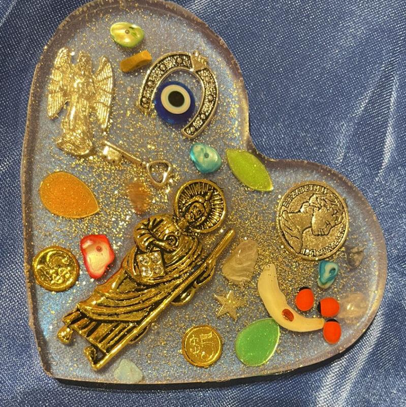 amuleto de  san judas tadeo curado y bendecido para amor dinero y proteccion