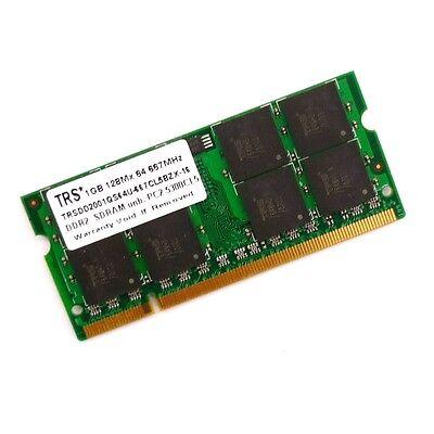 Cl5 Notebook (1GB TRS Notebook-Speicherriegel TRSDD2001GS64U-667CL5BZX-16 RAM *mit Rechnung*)