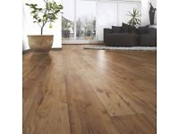 Laminate flooring fitting