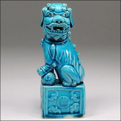 Fair Trade Hand Made Wooden British Bulldog Dog Pet Animal Statue Sculpture