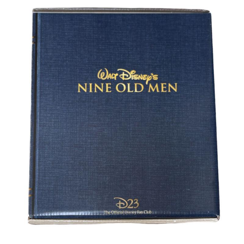 Disney D23 Official Fan Club Membership Walt Disney Nine Old Men 2017 Gift Box