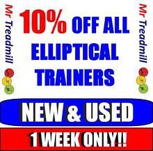 MASSIVE!! Elliptical Trainer SALE!! | 1 WEEK ONLY | Mr Treadmill Hendra Brisbane North East Preview