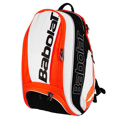 Used, Babolat Pure Strike Tennis Backpack Bag Orange Racket Racquet Badminton 753071 for sale  Shipping to Canada