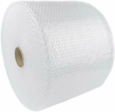 "Poly 3//16/""x 24/"" Small Bubbles Perforated at 12/"" 300 ft  bubble Roll BS12"