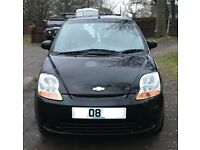 Chevrolet matiz SE plus for sale, MOT, very low mileage, drives really well.