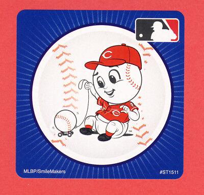 Cincinnati Reds Party Supplies (15 Cincinnati Reds Mascot - Large Stickers - Major League)