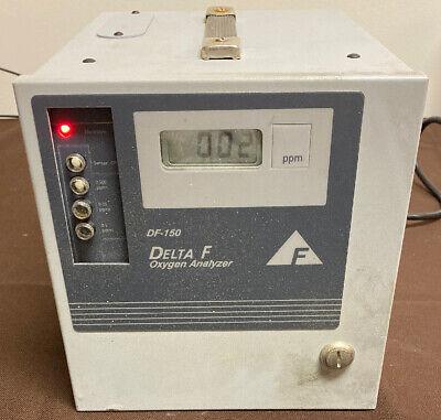 Delta F Corporation Df-150 Oxygen Analyzer Model No.153-500