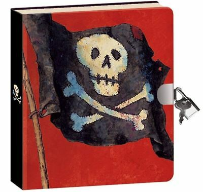 Best Secret Diary For Boys Girls Kids With Lock And Key Pirates Journal