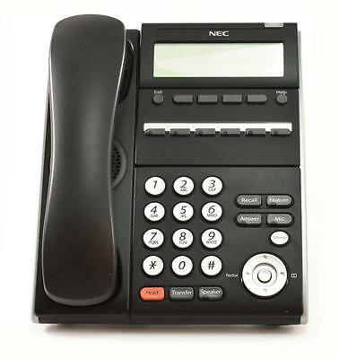 Lot Of 5 Refurbished Nec 690001 Dt710 Itl-6de-1 6-button Display Ip Phone