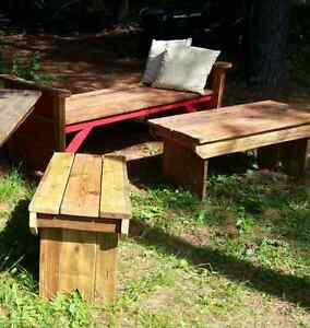 Rustic Hall Benches - Various Sizes and Styles Peterborough Peterborough Area image 9