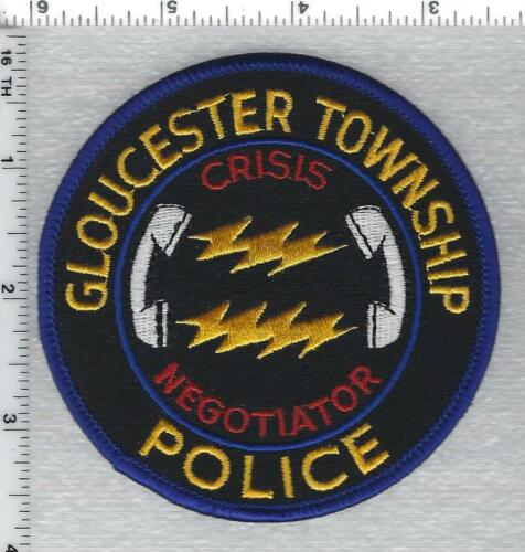 Gloucester Township Police (New Jersey) Crisis Negotiator Shoulder Patch