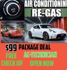 CAR AC REGAS NOW OPEN OPEN NOW GUARANTEED OPEN NOW !!
