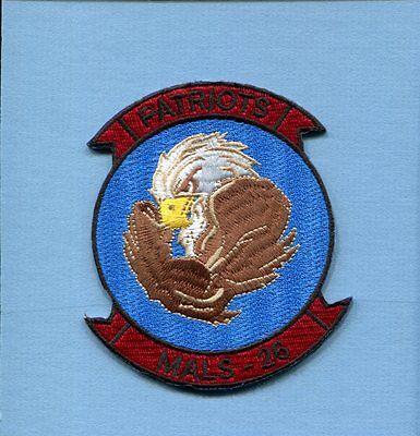 MALS-26 PATRIOTS USMC MARINE CORPS Aviation Logistic Squadron Patch