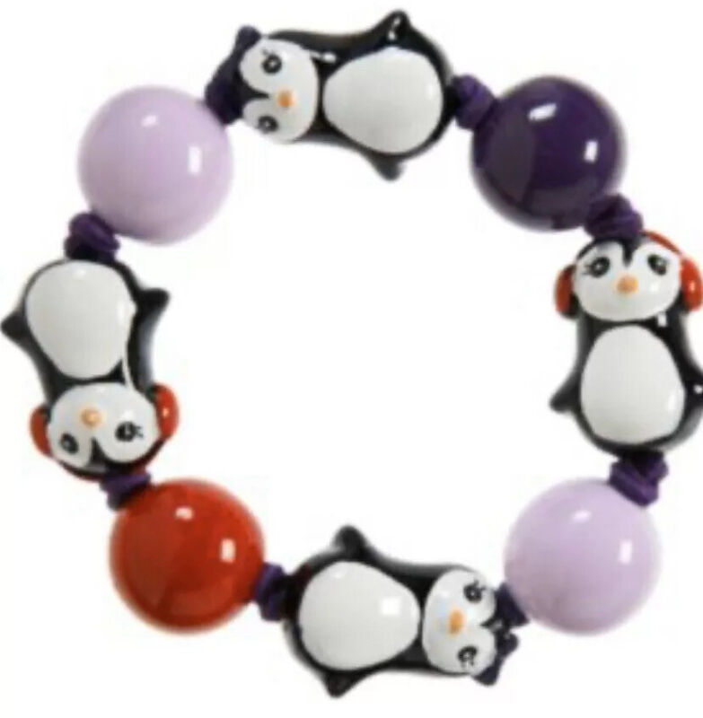 Gymboree Winter Penguin Bracelet HTF  ~ NWT