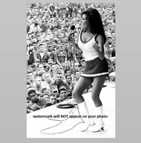 Raquel Welch USO Tour PHOTO Vietnam War Bob Hope Tour Saigon 67