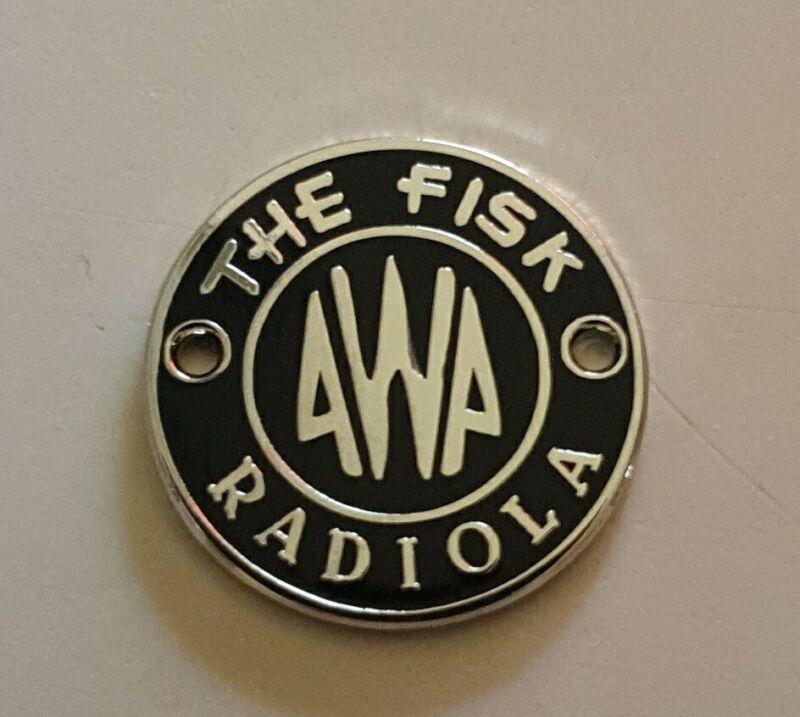 Awa Radiola badge new! Awa big brotherThese are the historically correct ones .