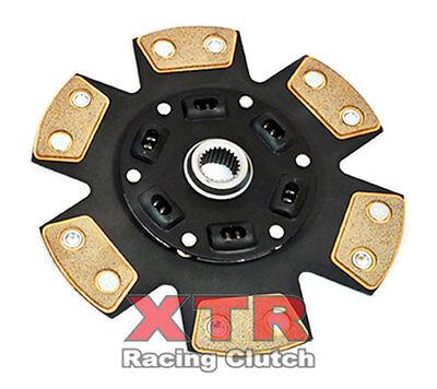 XTR 6-PUCK CERAMIC SPRUNG 240mm CLUTCH DISC fits SUBARU IMPREZA WRX STi 6-SPEED - Impreza 6 Puck