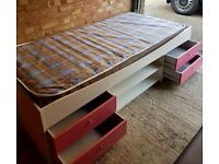 Girls Cabin Single Bed