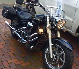 A nice 1300 cruiser for the summer, £3000 worth of accessories , garaged, well looked after.