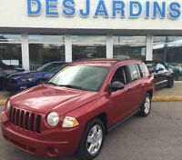 2007 JEEP COMPASS 4X4 **INSPECTÉ PAR FORD 132 POINTS**
