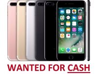 WANTED: iPhones, Samsung Galaxy, HTC, LG, 5, 6, 7, Plus, for CASH - Any Condition, Any Network