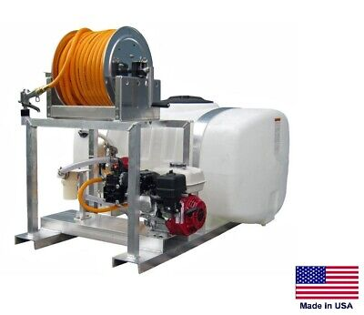 Sprayer Commercial - Skid Mounted - 9.5 Gpm - 580 Psi - 150 Gallon Tank