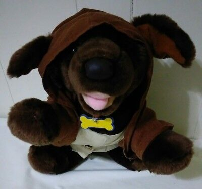 Build A Bear Star Wars JEDI DOG Plush Obi Wan Kenobi Costume Stuffed CLEAN - Obi Wan Dog Costume