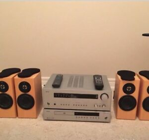 Arcam Receiver and DVD Player plus Totem Dreamcatcher speakers