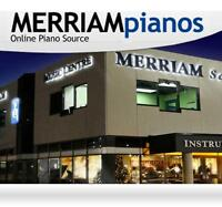 PIANO STORE IN TORONTO #1 RATED, 2 GTA LOCATIONS -MERRIAM pianos