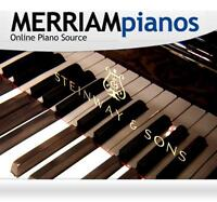 Steinway Model M, Grand Piano Only $29450! - MERRIAMpianos