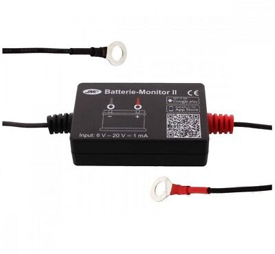 BLUETOOTH BATTERY MONITOR FOR SMARTPHONE OR TABLET MOTORCYCLES CARS CA
